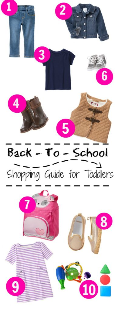 Back to School Guide Gymboree