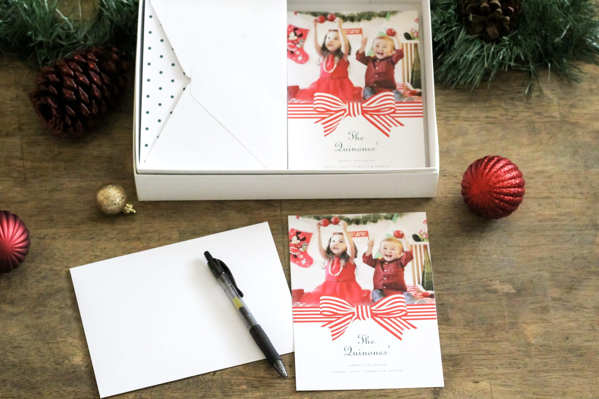 Holiday Cards with Paperless Post