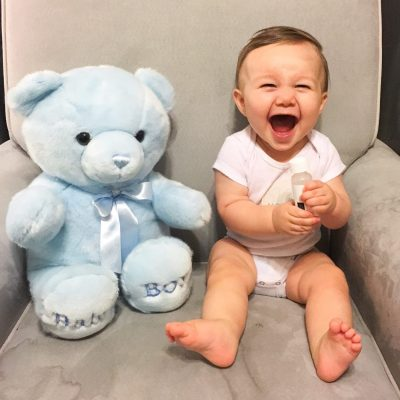 Gabriel is 10 months!
