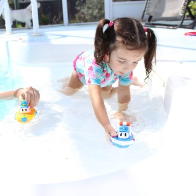 GAINING CONFIDENCE AND LEARNING TO SWIM WITH SWIMWAYS