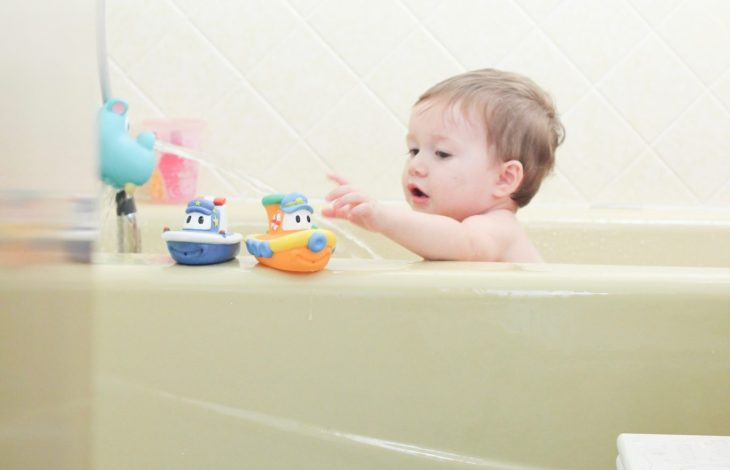 Bathtime Play for Toddlers