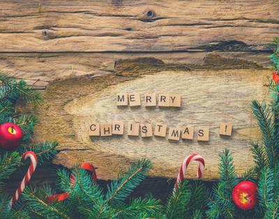 Holiday Home Tour & Christmas Cards
