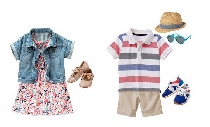 Spring Fashion for Toddlers: Sibling Edition