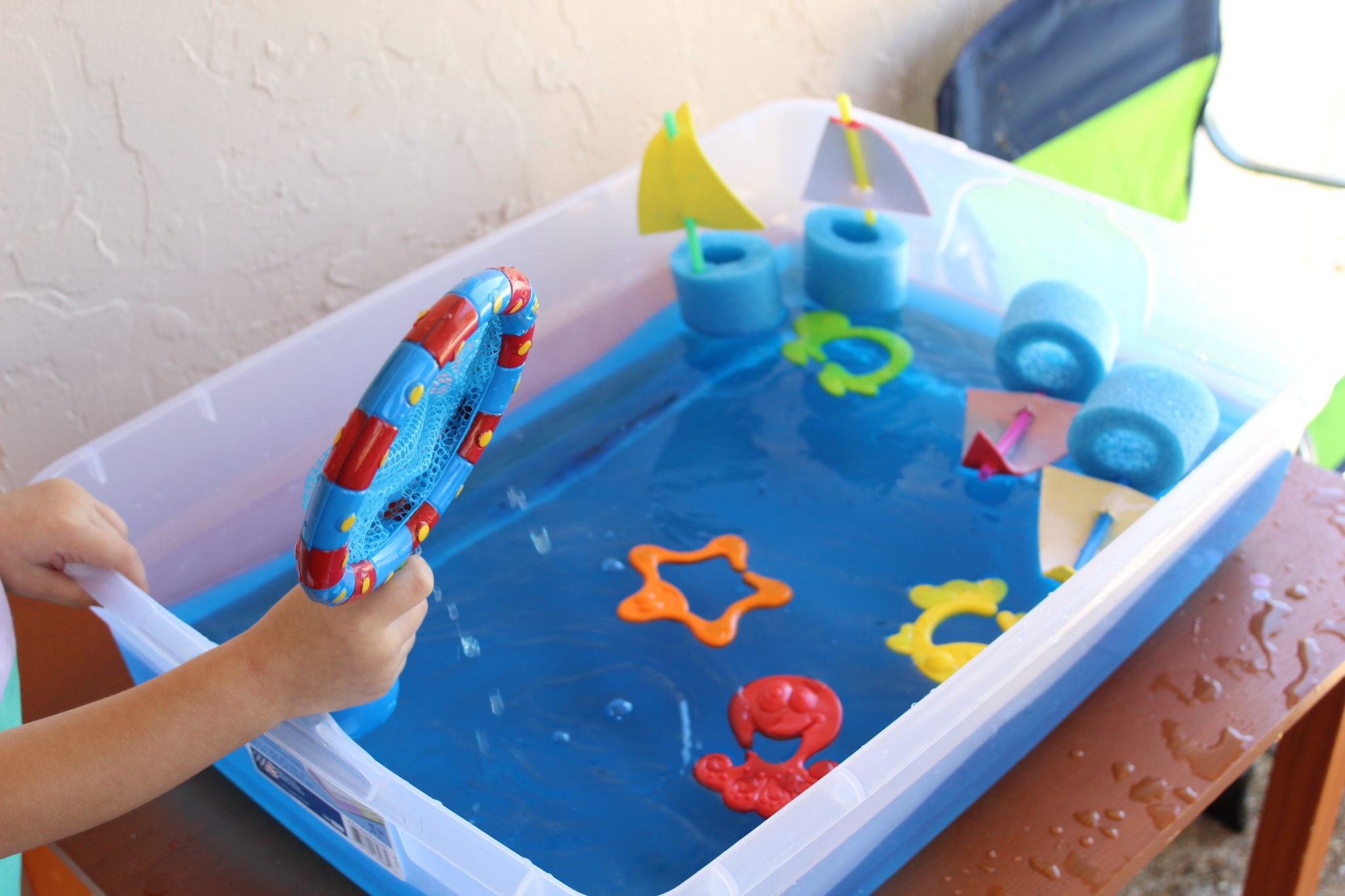 Indoor And Outdoor Water Play Amp Sensory Bin Activities For Toddlers Crazy Life With Littles