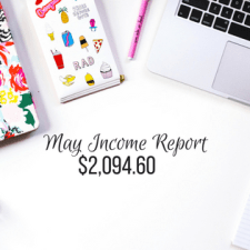 BLOG INCOME REPORT – MAY 2017