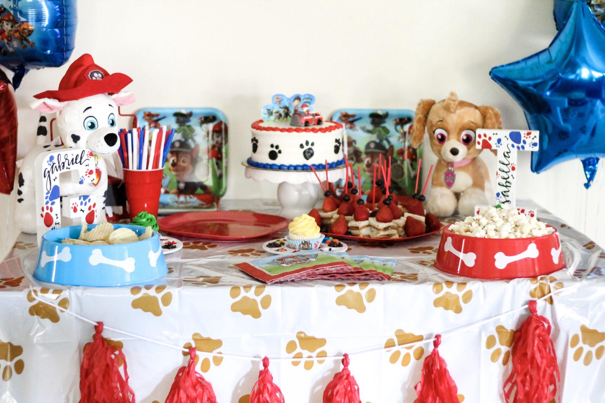 Dog Birthday Cake Supplies