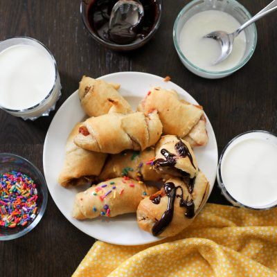 FUN AFTERNOON SNACK WITH PILLSBURY CRESCENT ROLLS