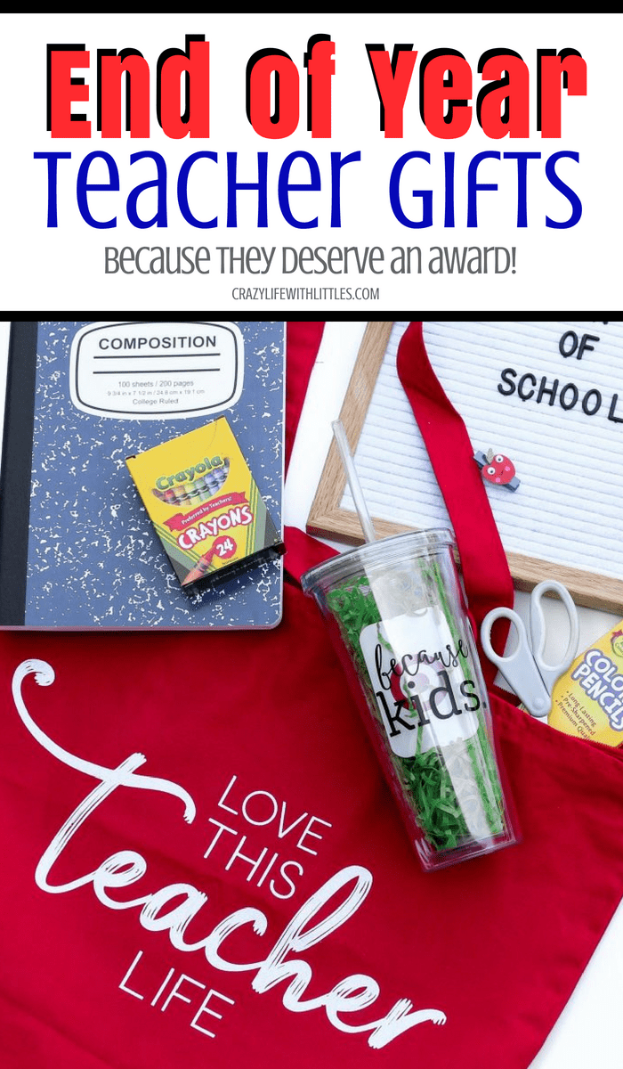 end of year teacher gifts from students