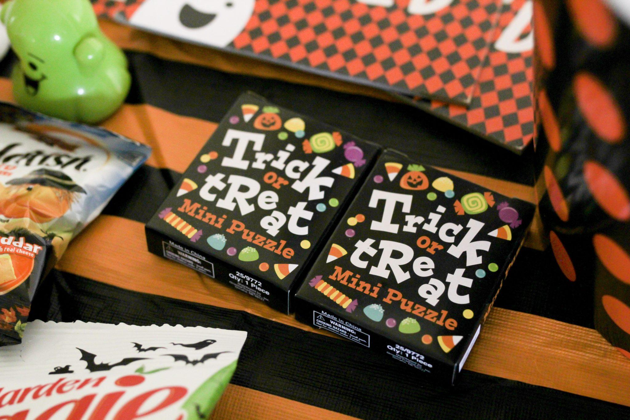 No Candy Halloween Treat Bags For Preschoolers Crazy