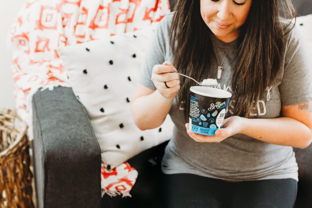 Breyers delights are the better for you, snack alternative to satisfy that frozen treat craving at just 330 calories and 20g of protein per pint. Find a retailer here: https://ooh.li/4ebb985 #ad #breyersdelights