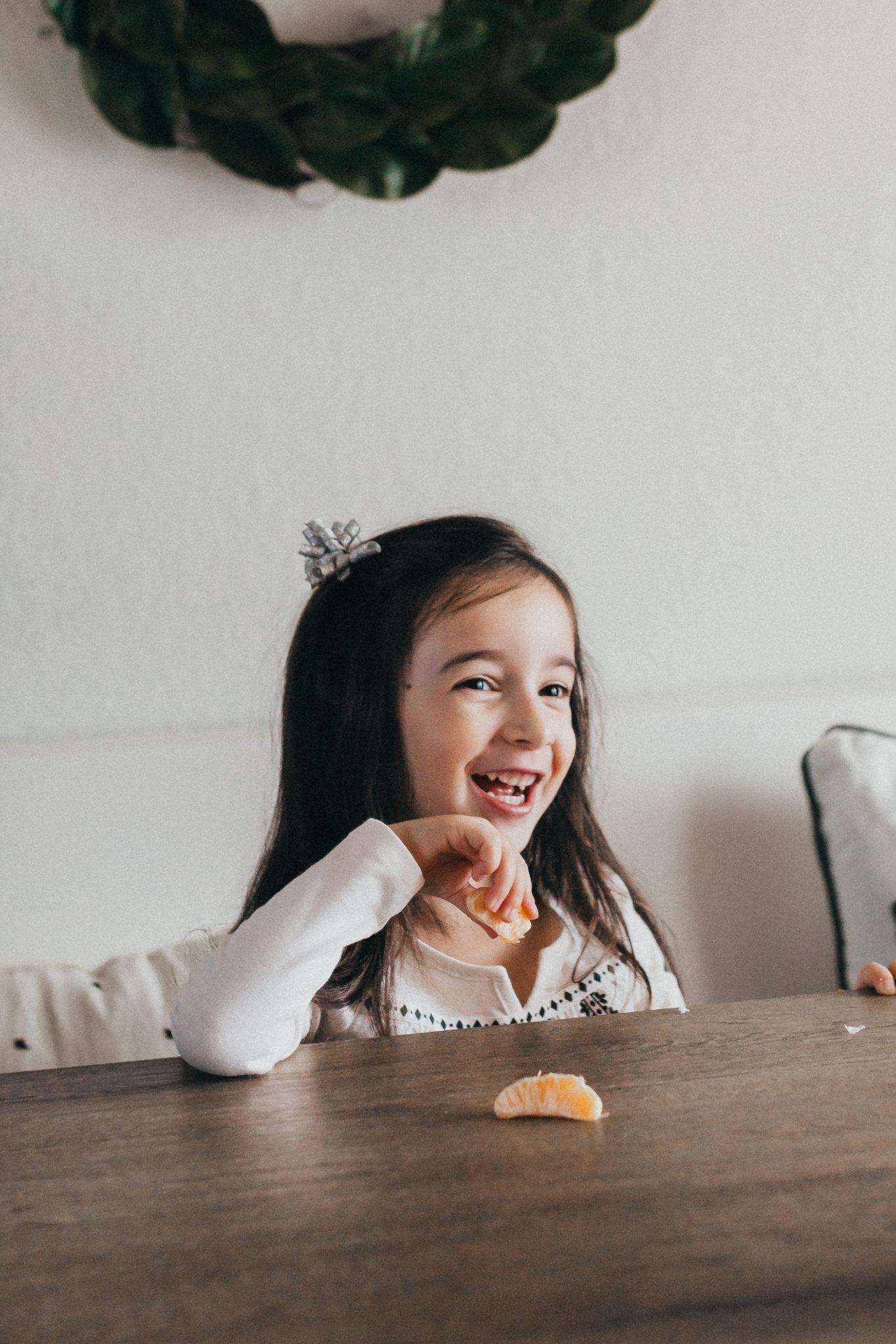 Orange Muffin recipe with yogurt and whole oranges, teaching kids kindness with Cuties #100daysofsunshine #ad