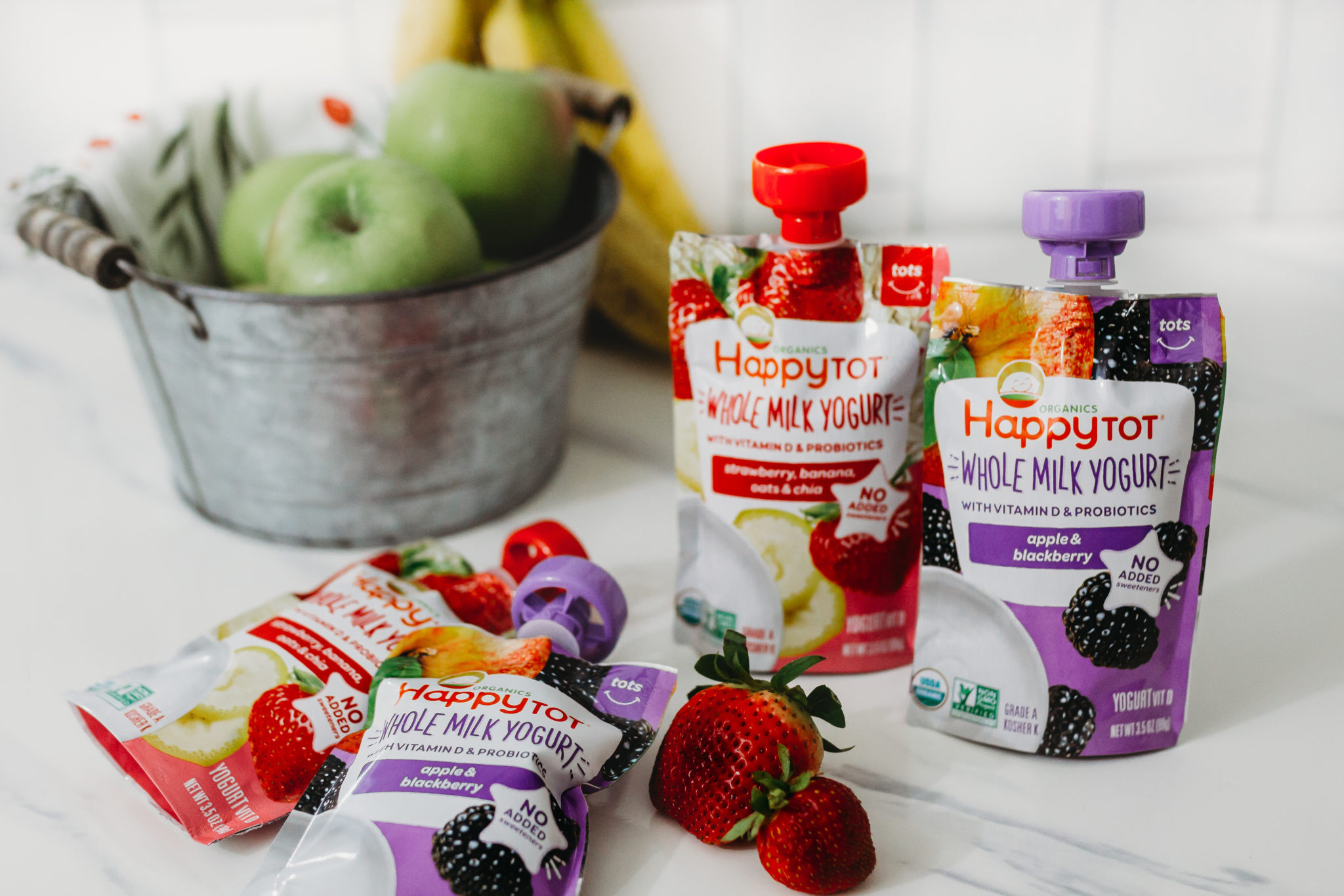 starting solids with your baby, whole milk baby yogurt, Happy Family organic yogurt #ad #HappyFamilyTarget