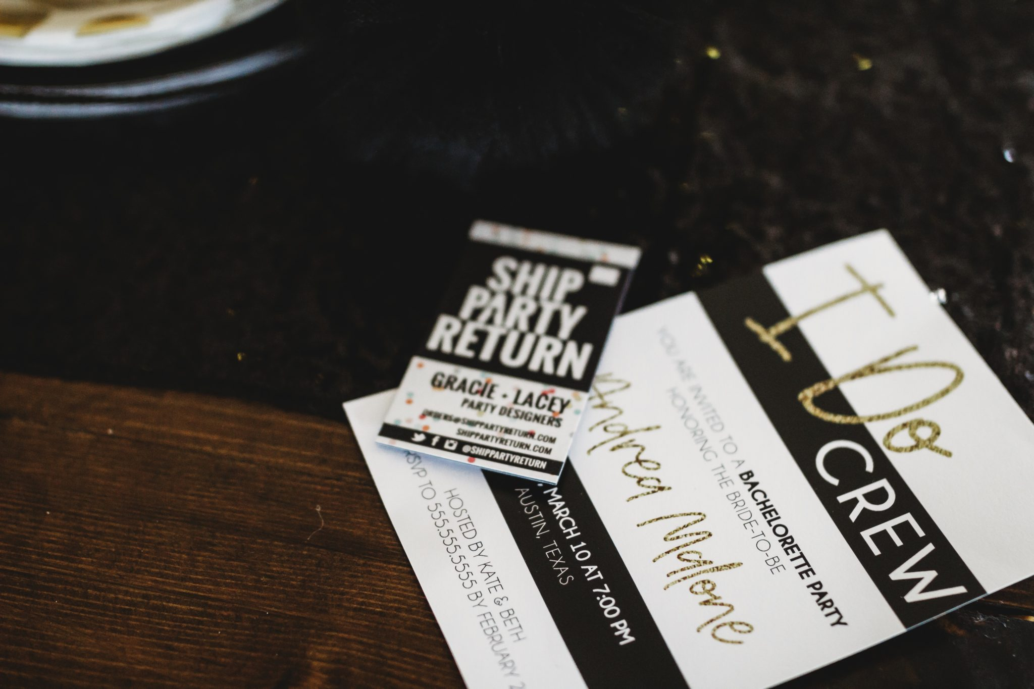 Ship Party Return, party decor, easiest way to plan a party