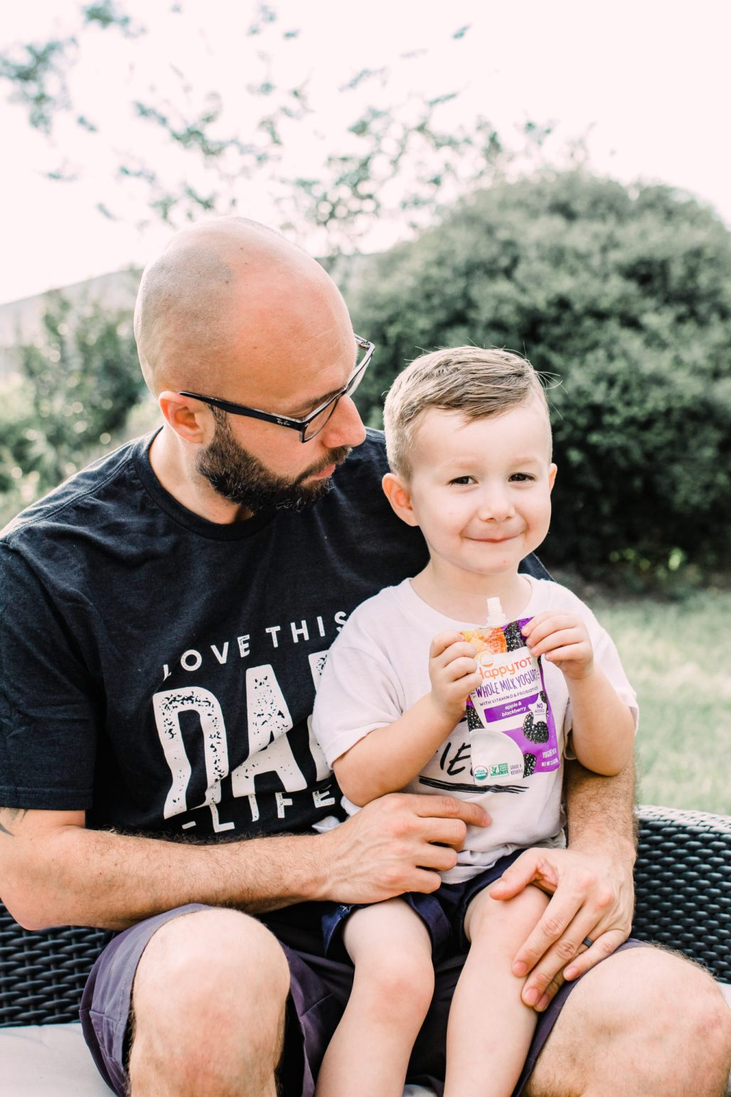 #ad #ThisIsHappy #TargetBaby, Refreshing Summer Treats for Toddlers, healthy snacks for toddlers, organic yogurt pouches, fun ways to enjoy yogurt treats