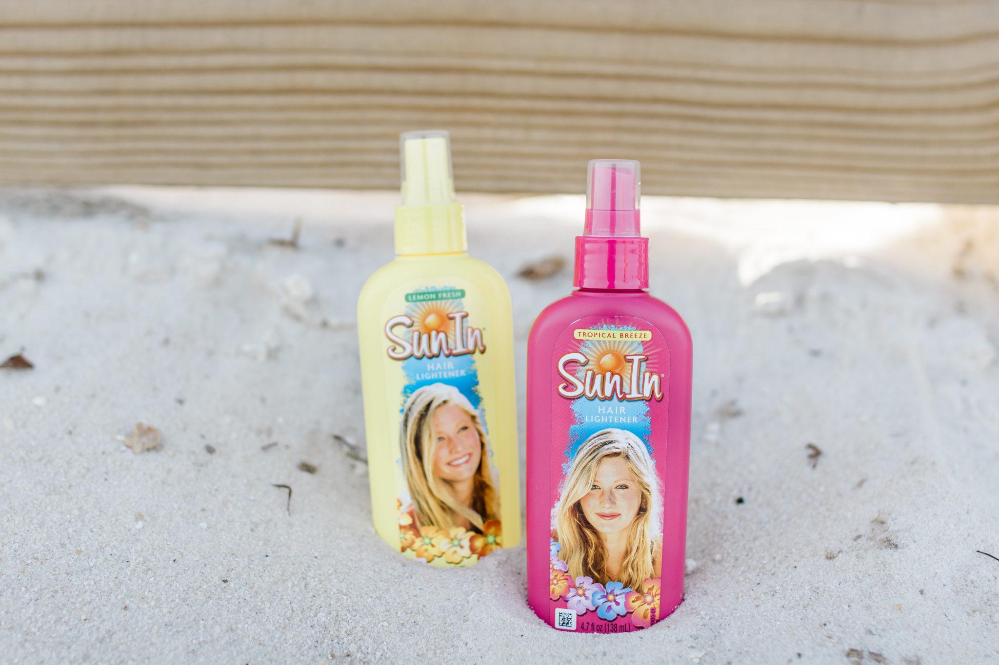 #SunInFunIn #ad #PowerPrimper #SunIn How to Get Summer Highlights at Home, Easy No Heat Summer Beach Waves