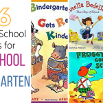 26 FIRST DAY OF PRESCHOOL AND KINDERGARTEN BOOKS