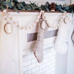DIY WOODEN INITIAL STOCKING TAGS