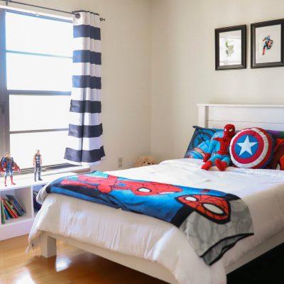 MODERN SUPERHERO BEDROOM