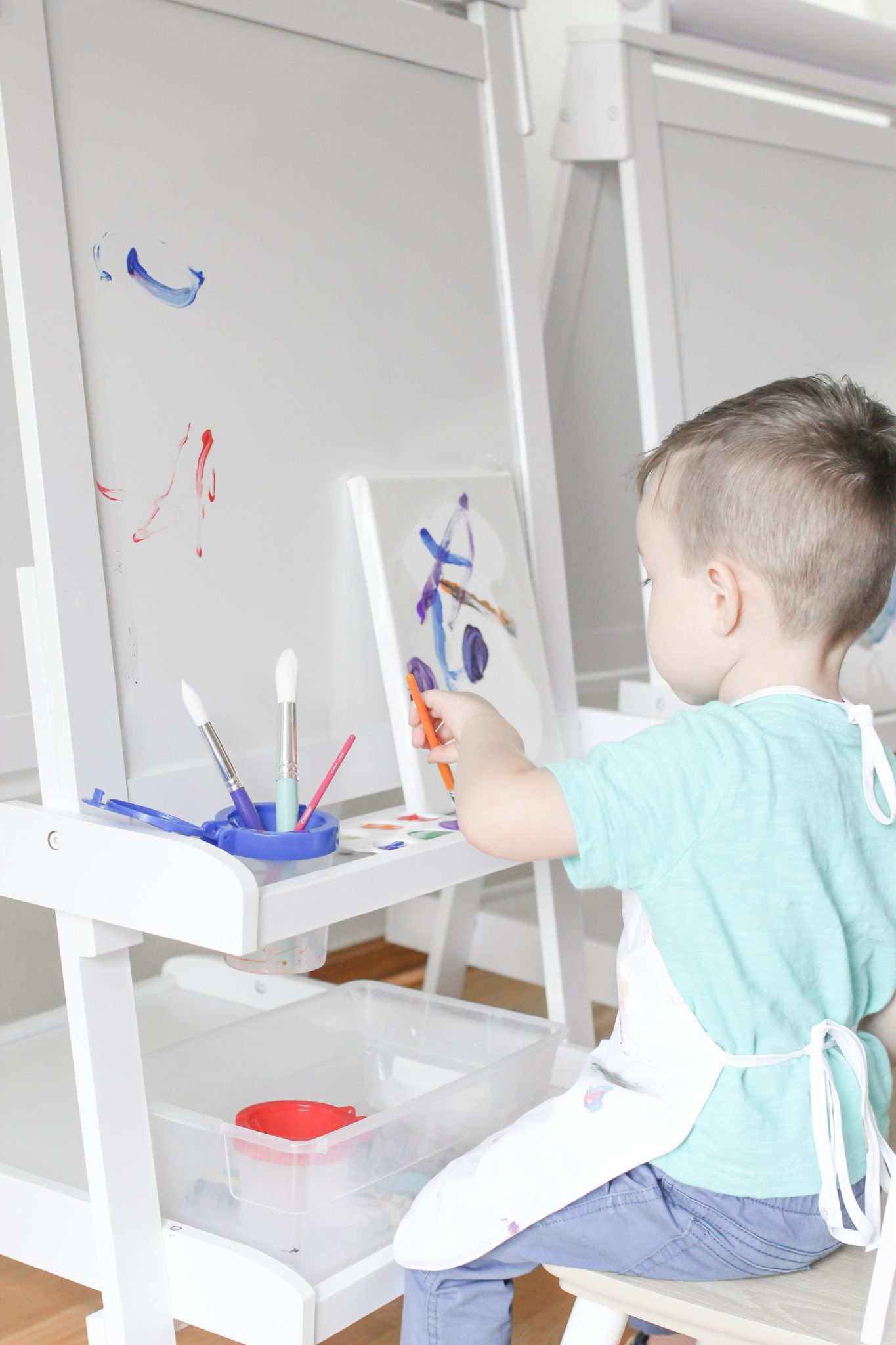 Creating Playroom Wall Art for Toddlers by Tampa Lifestyle and Mom Blogger Crazy Life with Littles
