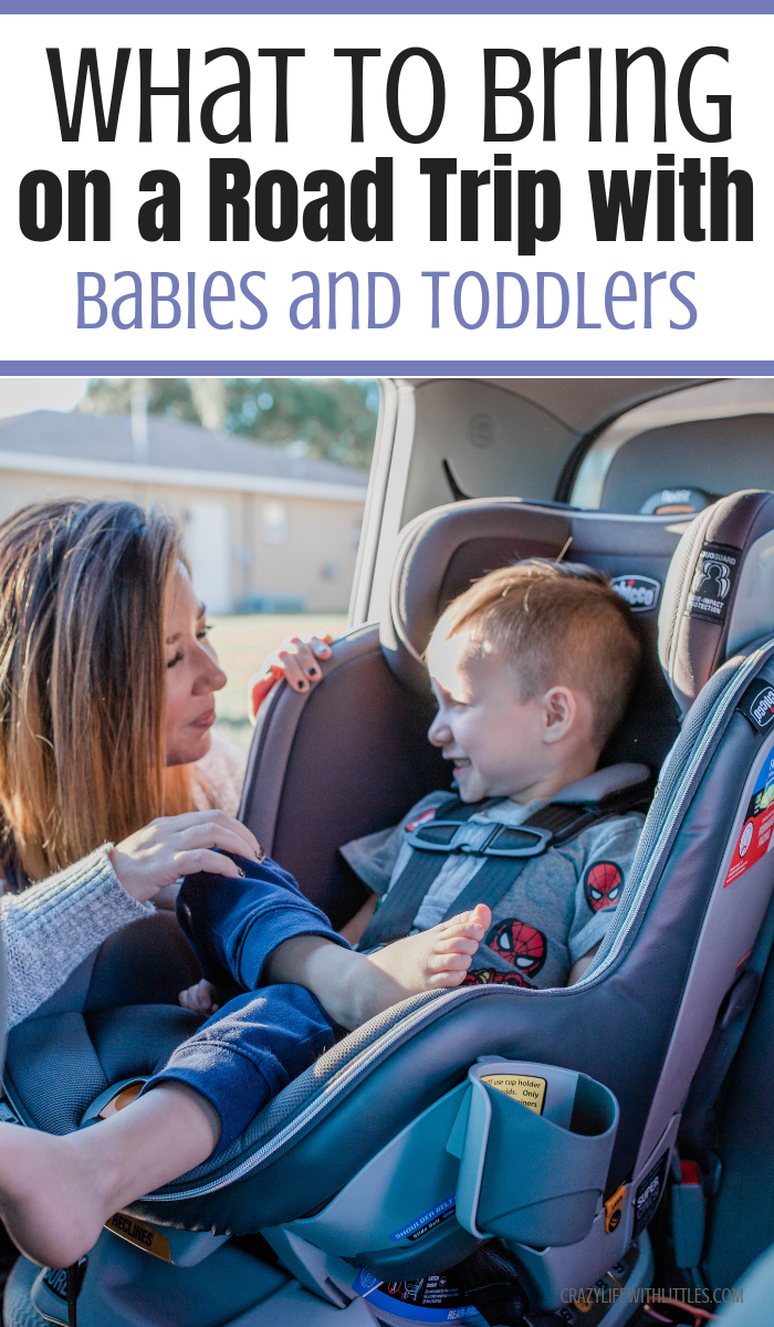 What to Bring on a Road Trip with Babies and Toddlers - Tampa Lifestyle, Travel and Mom Blogger Crazy Life with Littles
