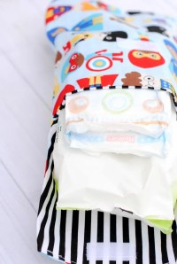 Cute & Easy Diaper Clutch Pattern
