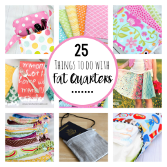 Mini Bean Bag Chair Ruffle Sash 25 Fantastic Things To Sew For Fall - Crazy Little Projects