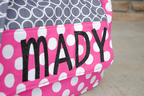 personalized kids messenger bag