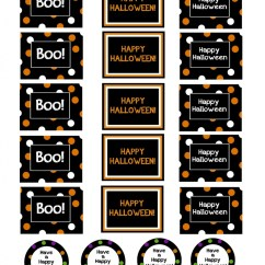 Football Bean Bag Chair Kids Upholstered Halloween Treat Buckets & Printable Gift Tags