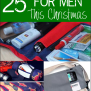 25 Great Handmade Gifts For Men Crazy Little Projects