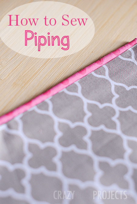 how to make piping crazy little projects