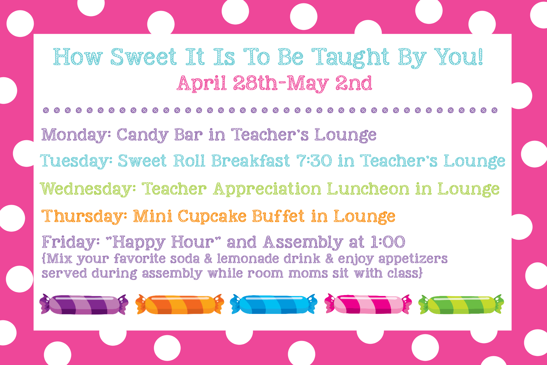 Teacher Appreciation Ideas Ts Doors Themes Amp More