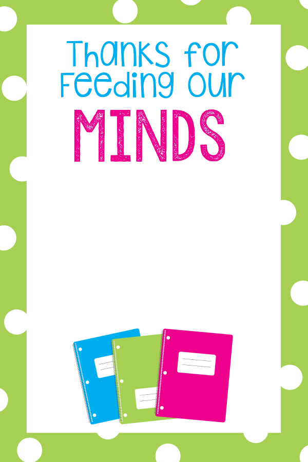 Teacher Appreciation Card Holders