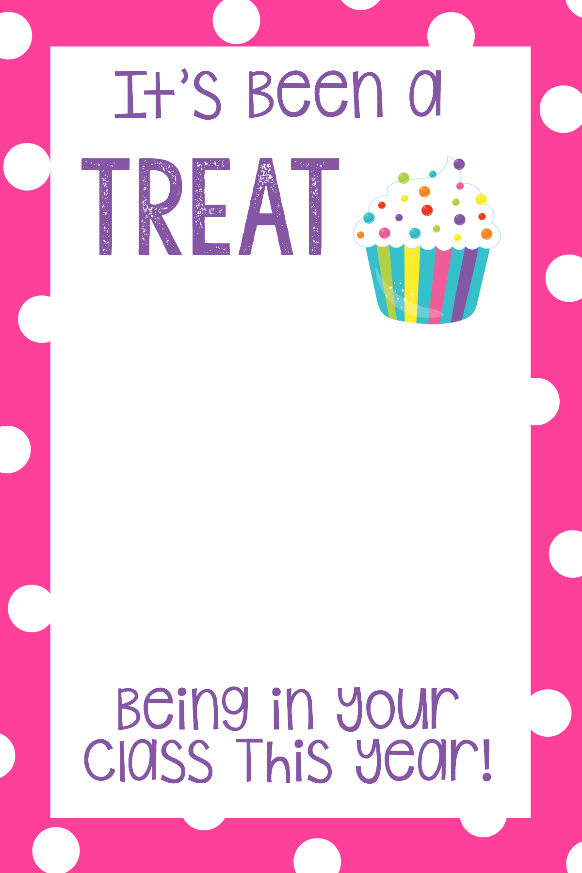 Teacher Appreciation Ts Printable T Card Holders