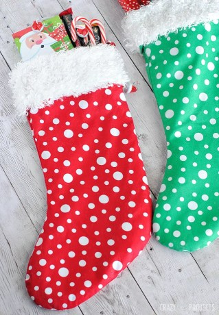 Diy Christmas Stockings Even Your Husband Can Do Picky Stitch