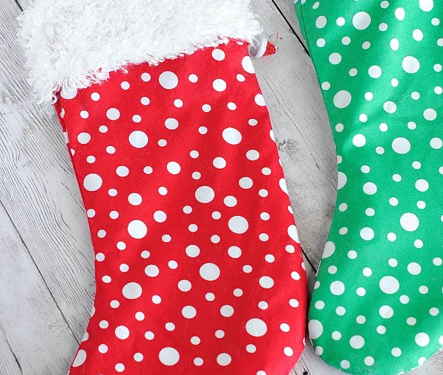Easy Christmas Stocking Pattern