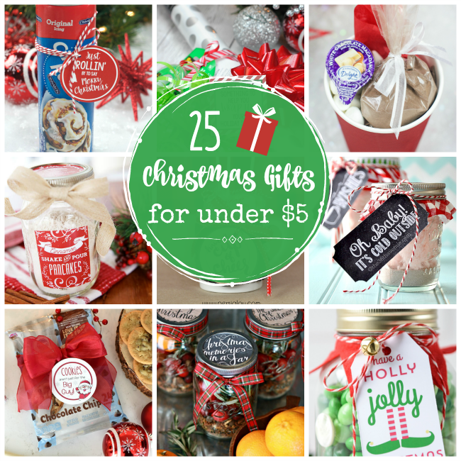 25 cheap gifts for