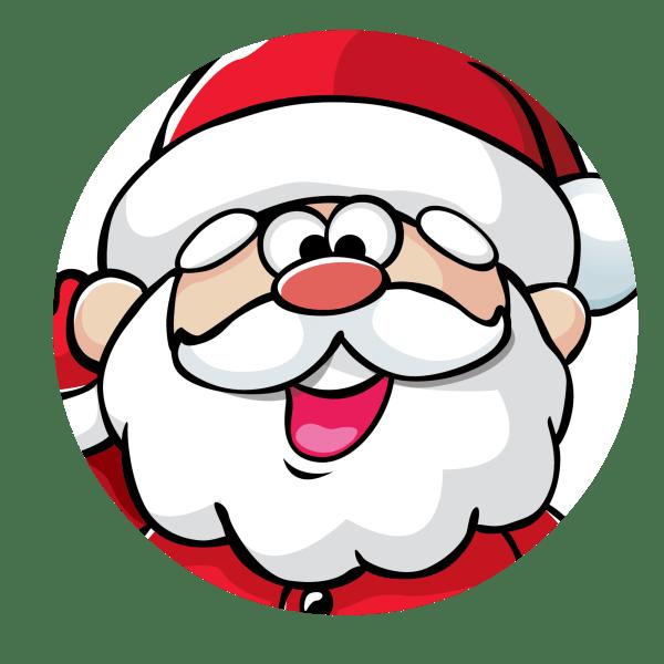 santa belt christmas jar idea