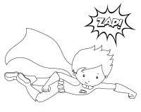 Malvorlagen Superhelden Coloring Pages Superhero