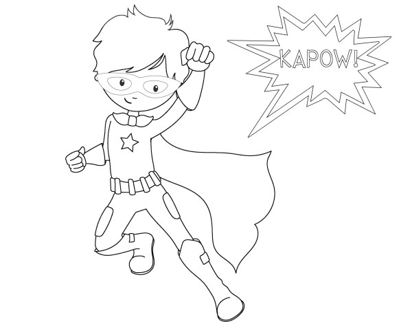 coloring pages of superheroes # 14
