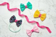 quick and easy hair bow tutorial