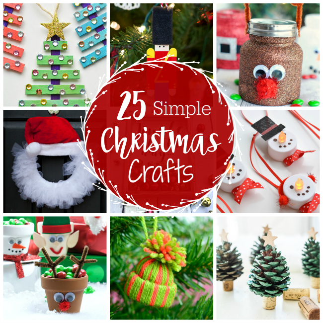 Simple Easy Christmas Crafts