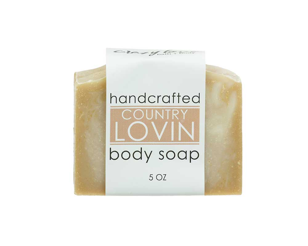 Crazy Love Bath and Body Country Lovin Soap