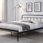 Bourton Modern Black Metal Bed Frame Single Small Double Double King Size Crazypricebeds Com