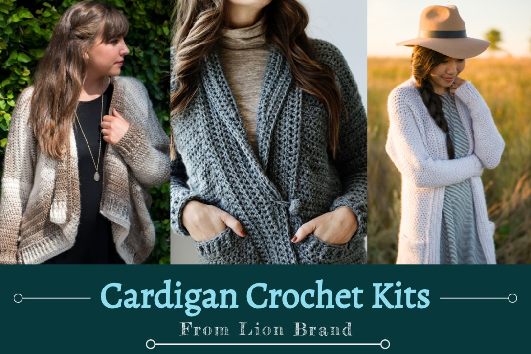 25bae6b38efd3 Cardigan Crochet Kits – Crazy Q Crafts