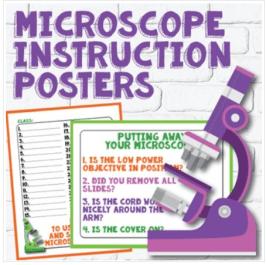 microscope signage