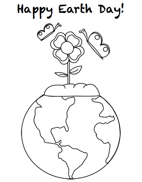 Cool Earth Day Coloring Pages Coloring Pages