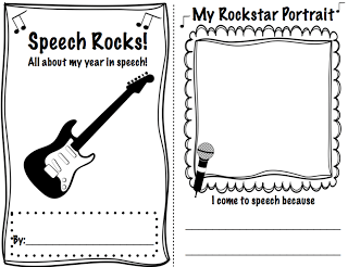 Speech Rocks! A Memory Book for Therapy Students