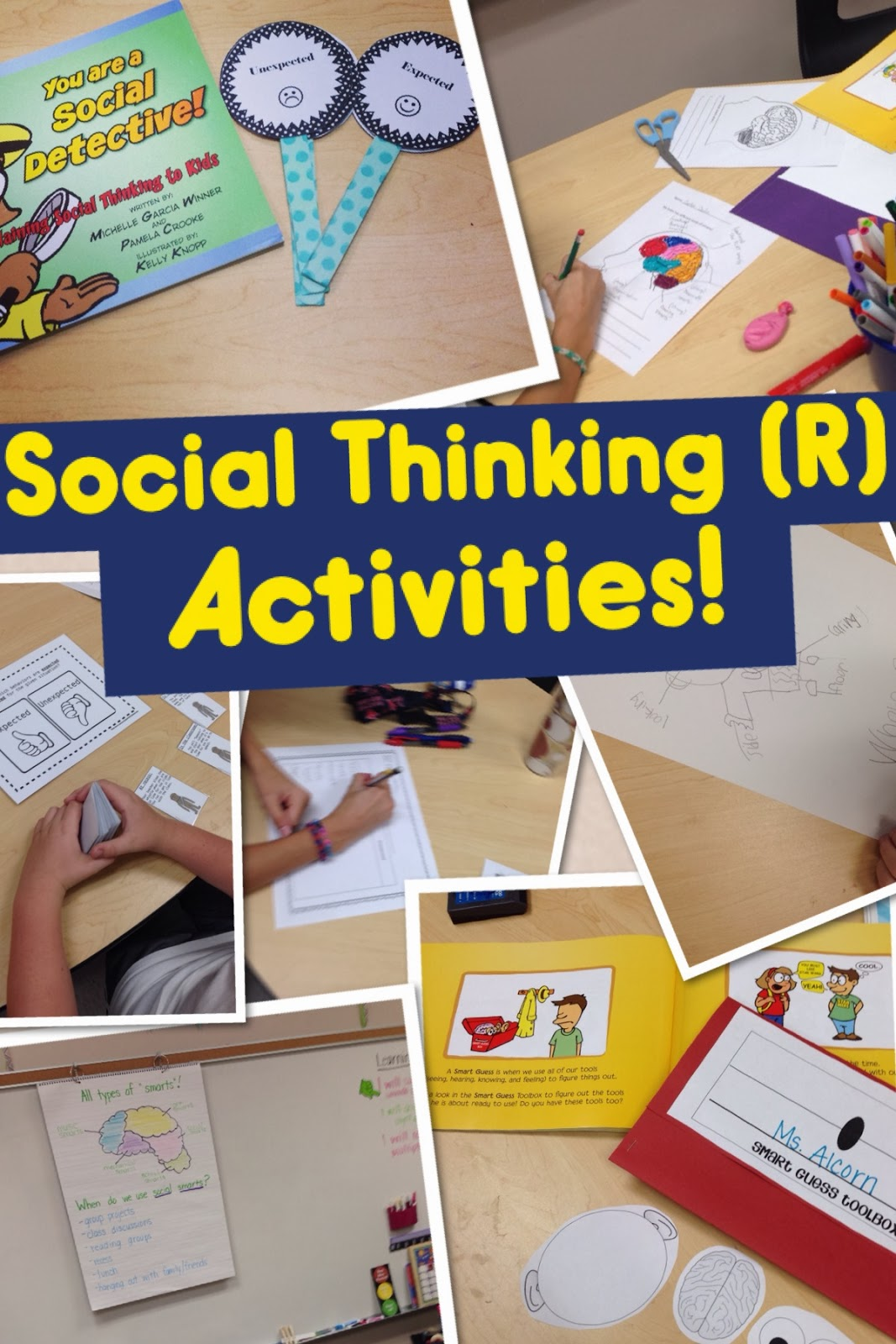 Activities For You Are A Social Detective