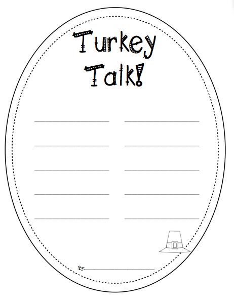 Turkey Craft-ivity