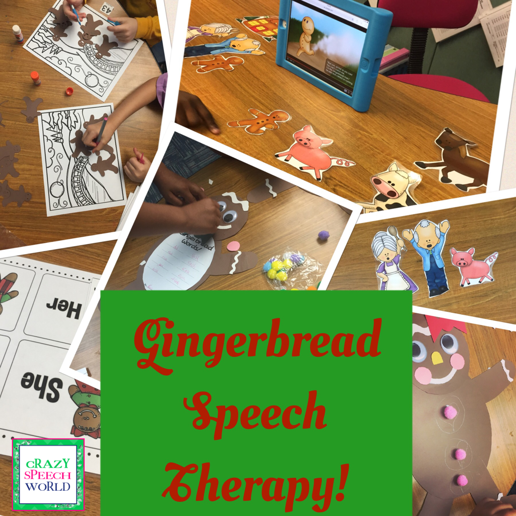 Gingerbread Speech Therapy